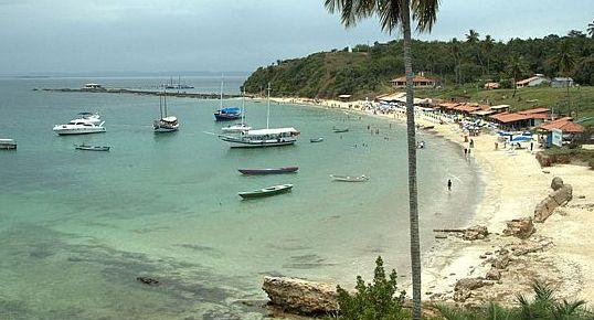 Guia Turismo e Viagem da Ilha dos Frades na Bahia