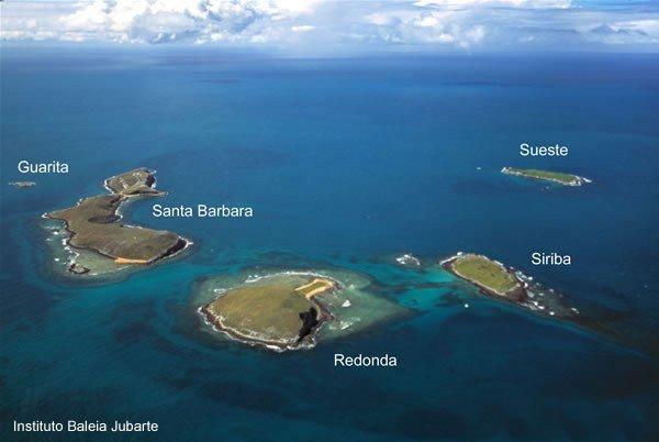 Ilhas do Arquipelago de Abrolhos