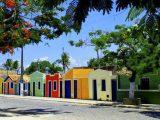 Casas históricas em Prado na Bahia