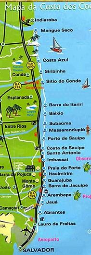 Costa dos Coqueiros BA