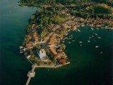 Ilha de Bom Jesus dos Passos é pequena e tranquila