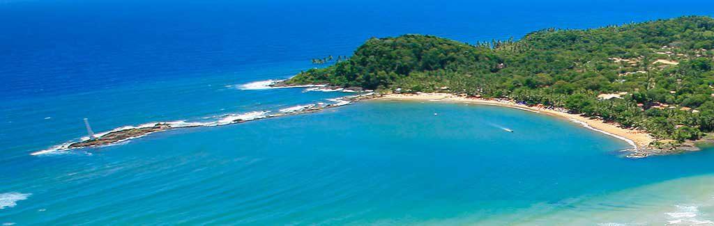 Praia da Concha e Farol em Itacaré
