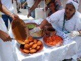 Acarajé é uma especialidade gastronómica da culinária afro-brasileira