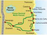 mapa de Cumuruxatiba