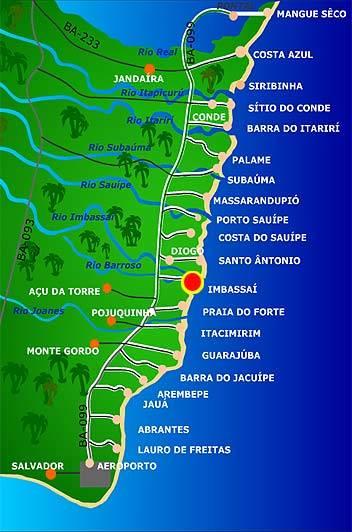 Praias da Mata de São João