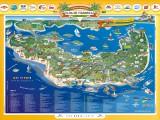 Mapa da Ilha de Itaparica
