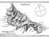 Mapa Histórico da Ilha de Trindade