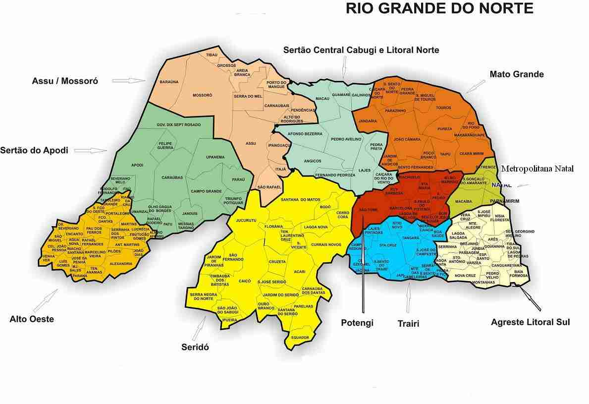 Resultado de imagem para fotos do mapa do rn