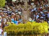 Romeiros do Santuário de Bom Jesus da Lapa na Bahia