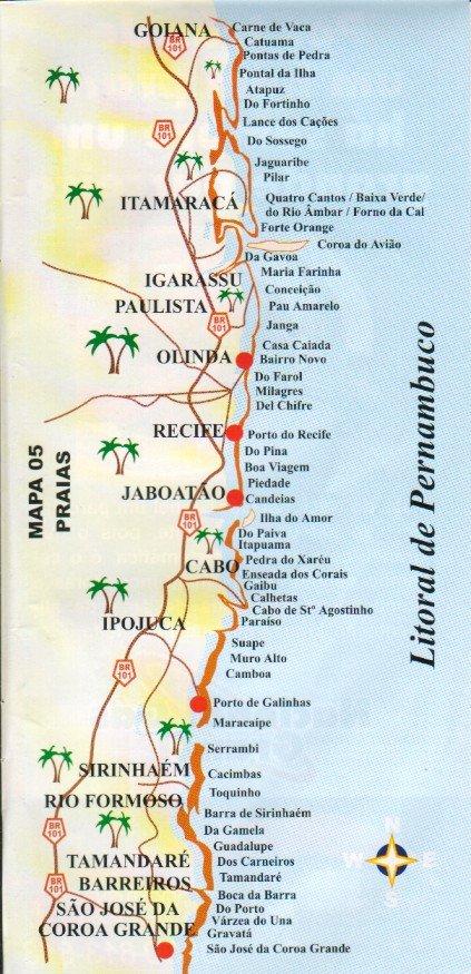 O Litoral Norte De Pernambuco Tem Um Dos Sitios Historicos Mais