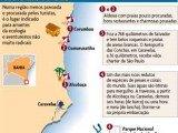 mapa costa das baleias