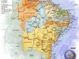 mapa Região Nordeste do Brasil