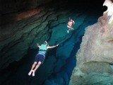 mergulho no Poço Azul na Chapada Diamantina