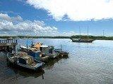 Santa Cruz de Cabrália é o ponto de partida para a vila de Santo André