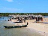 Ilha Croa do Goré só fica disponível por seis horas por dia