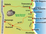 mapa Corumbau