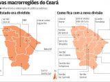 As Novas Macrorregiões do Ceará