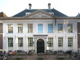 Prédio em Amsterdã, Holanda, sede histórica da Companhia das Índias Ocidentais, ou West-Indische Compagnie – WIC