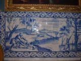 Azulejos na Capela Dourada