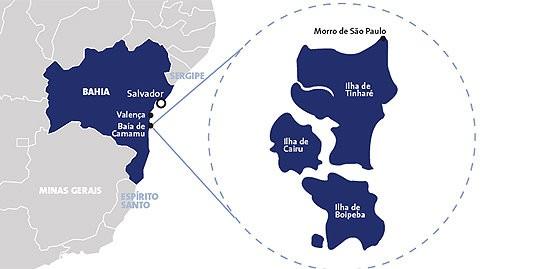 Guia de Turismo do Arquipélago de Tinharé na Bahia