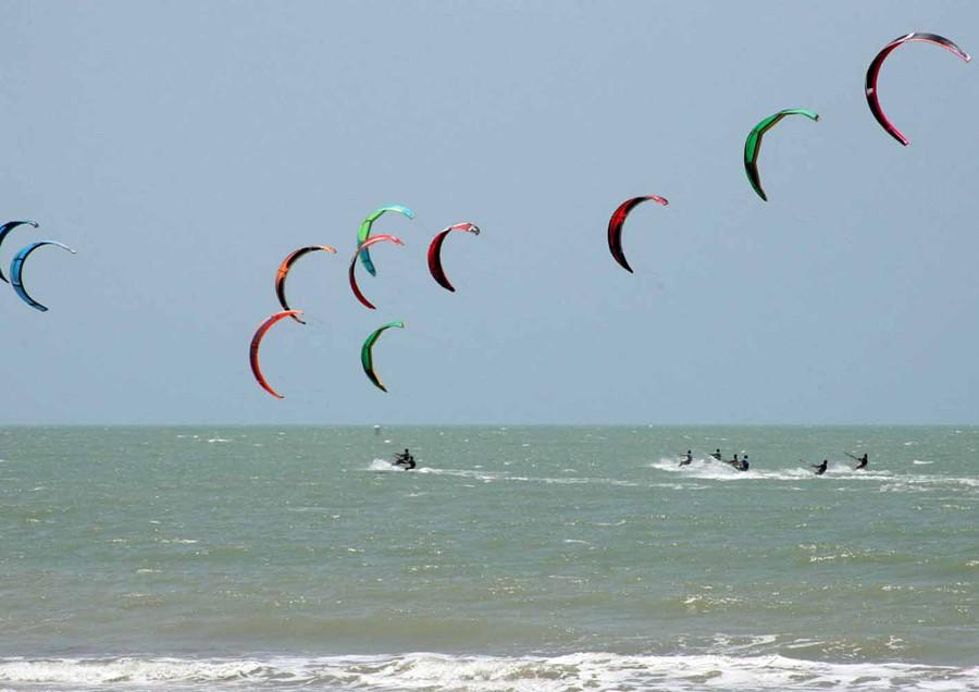 Kitesurf em Trancoso na Bahia