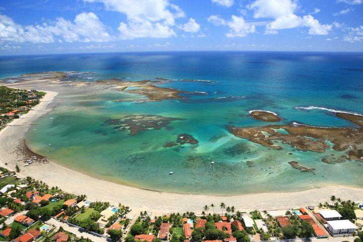 Porto de Galinhas é o principal destino de praia de Pernambuco