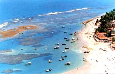Praias no Litoral Sul de Pernambuco