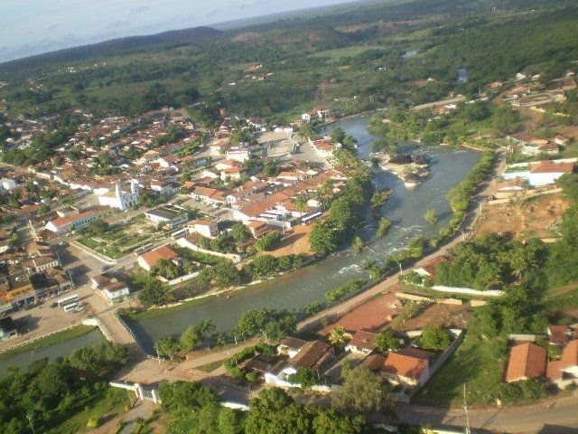 Correntina no oeste da Bahia