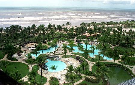 Hotel Transamérica na Ilha de Comandatuba