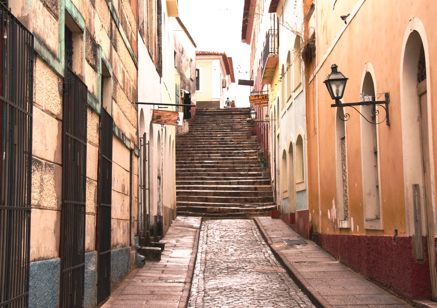 Beco Catarina Mina em São Luís - Maranhão
