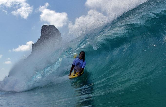Surf em Fernando de Noronha