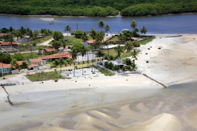 Praia de Carne de Vaca em Pernambuco