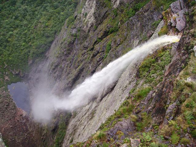 Cachoeira da Fumaça no Vale do Capão