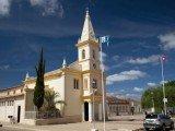Igreja Matriz no centro de Morro do Chapéu