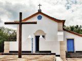 Igreja de Nossa Senhora de Guadalupe, na Ilha dos Frades, na Bahia