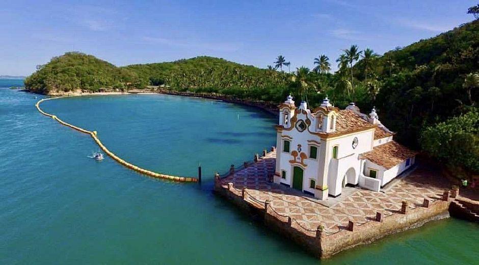 Igreja de Nossa Senhora do Loreto na Ilha dos Frades