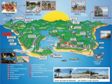 Ilhéus mapa turístico