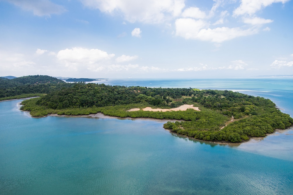 Ilha Bimbarras na Bahia