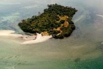 Ilha do Medo na Baía de Todos os Santos