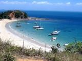 Ilha dos Frades na Baía de Todos os Santos