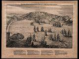 Mapa da entrada de São Salvador da Bahia de Todos os Santos