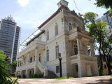 Palacete das Artes, na Avenida Sete