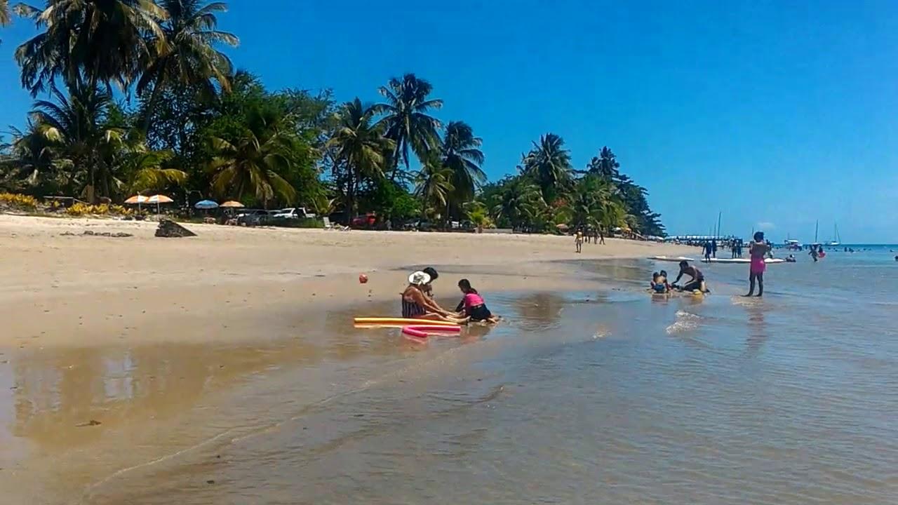 Praia de Cacha-Pregos na Ilha de Itaparica