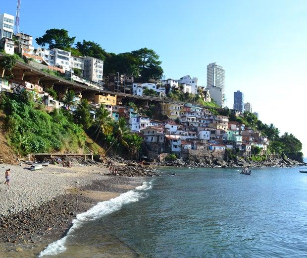 Praia do Gamboa em Salvador
