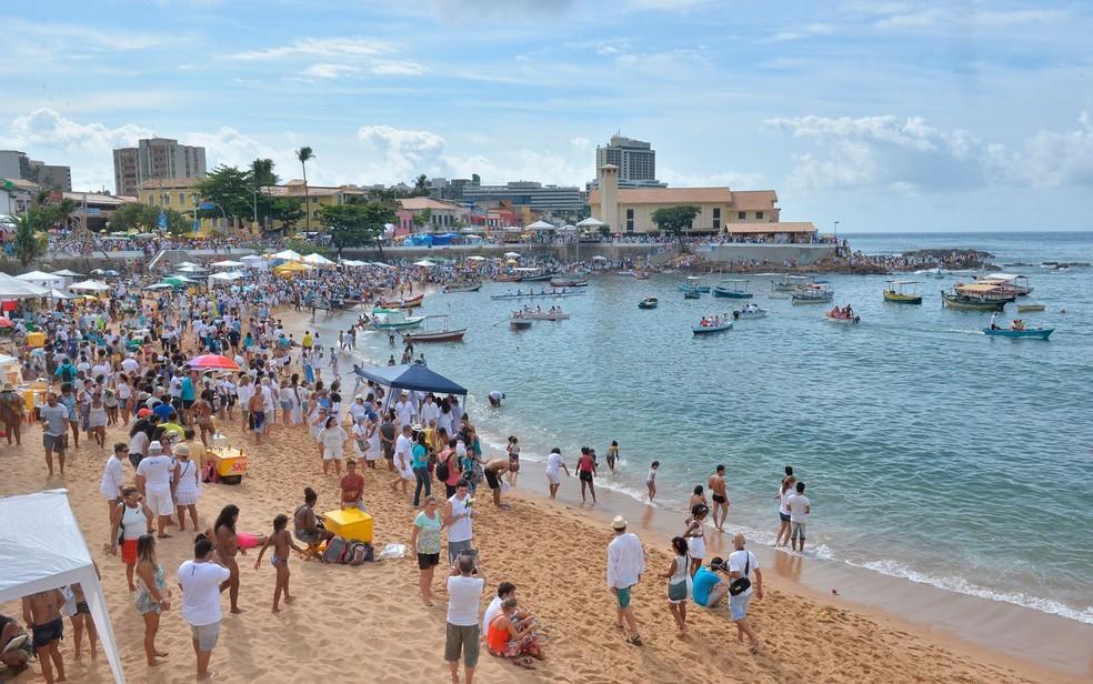 Praia do Rio Vermelho em Salvador