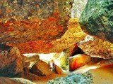 Salões de areias coloridas - Lençóis