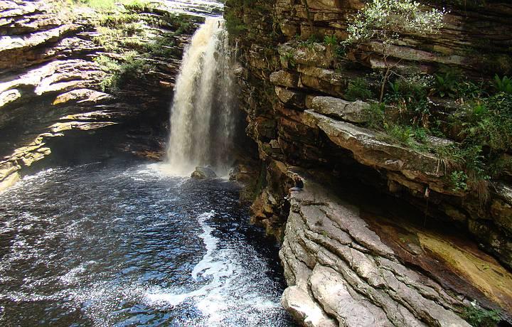Cachoeira do Sossego em Lençóis