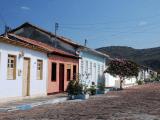 Casinhas do centro histórico de Mucugê