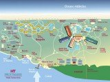 mapa Ilha de Comandatuba