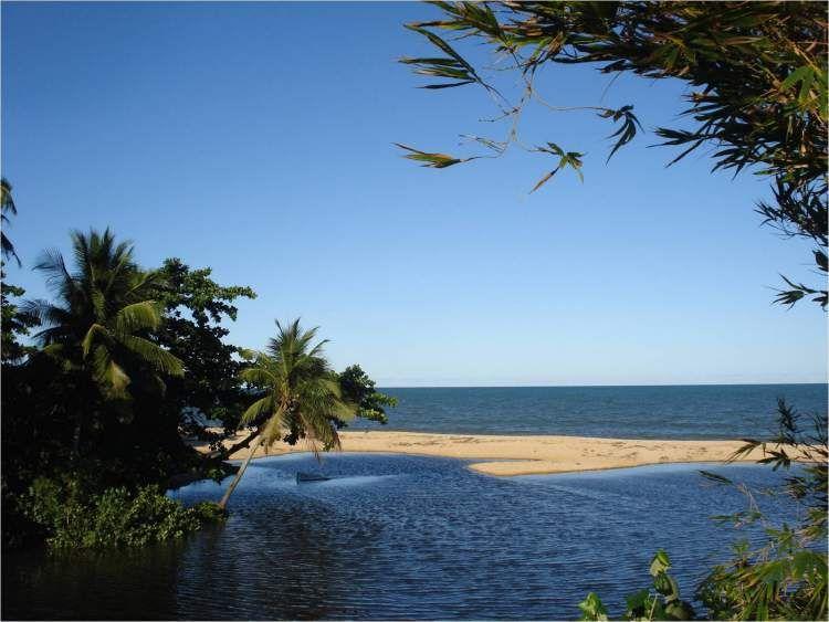 Praia do Rio dos Mangues em Porto Seguro